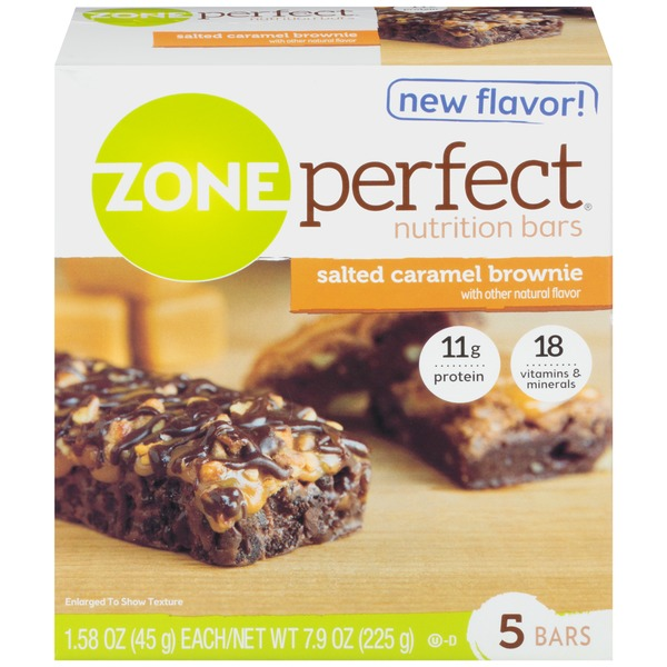 Zone Perfect Salted Caramel Brownie Nutrition Bar
