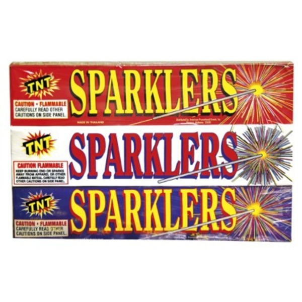 Tnt Fireworks Assorted Sparklers