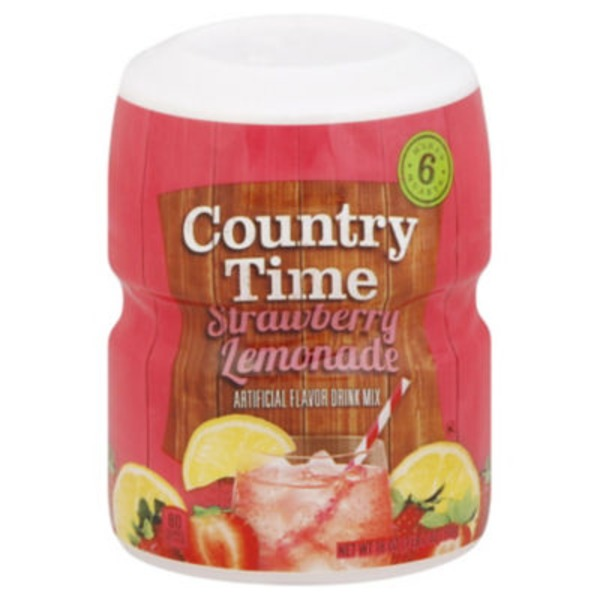 Country Time Strawberry Lemonade Drink Mix