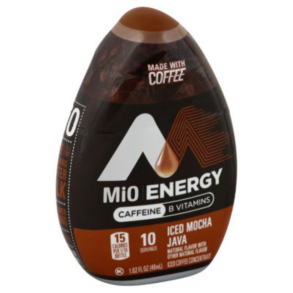 MiO Energy Iced Mocha Java Iced Coffee Concentrate