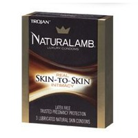 Trojan Naturalamb Natural Skin Lubricated Luxury Condoms