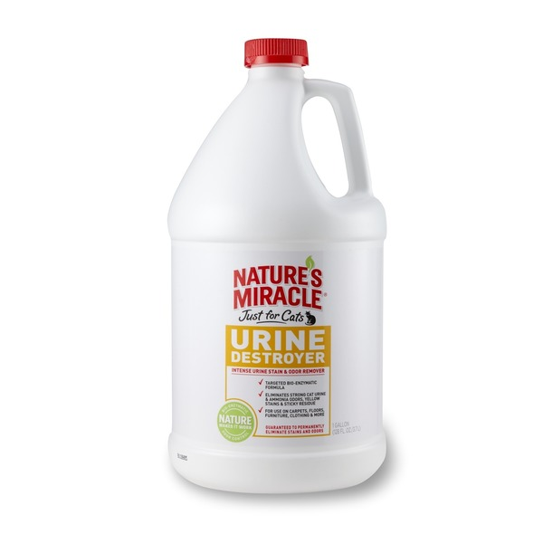 Nature's Miracle Just For Cats Urine Destroyer Stain & Residue Eliminator