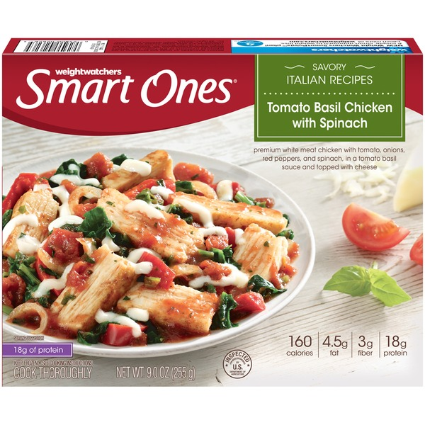 Weight Watchers Tomato Basil Chicken with Spinach Savory Italian Recipes