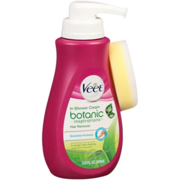 Veet In Shower Botanic Inspirations Hair Remover Cream