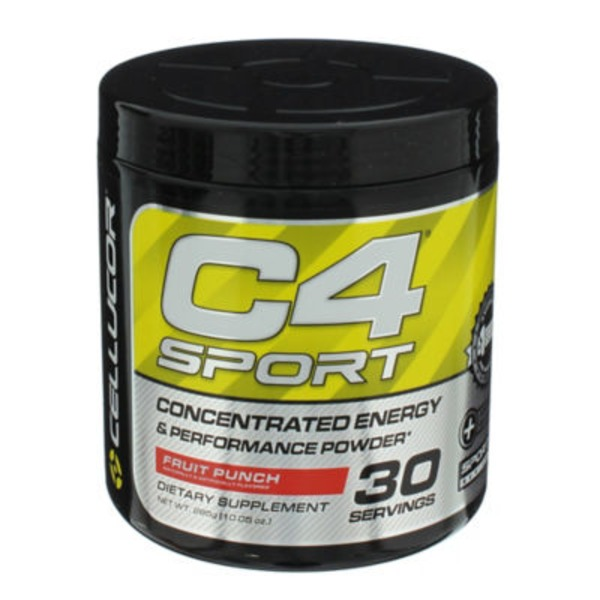 Cellucor C4 Sport Fruit Punch Pre Workout Powder