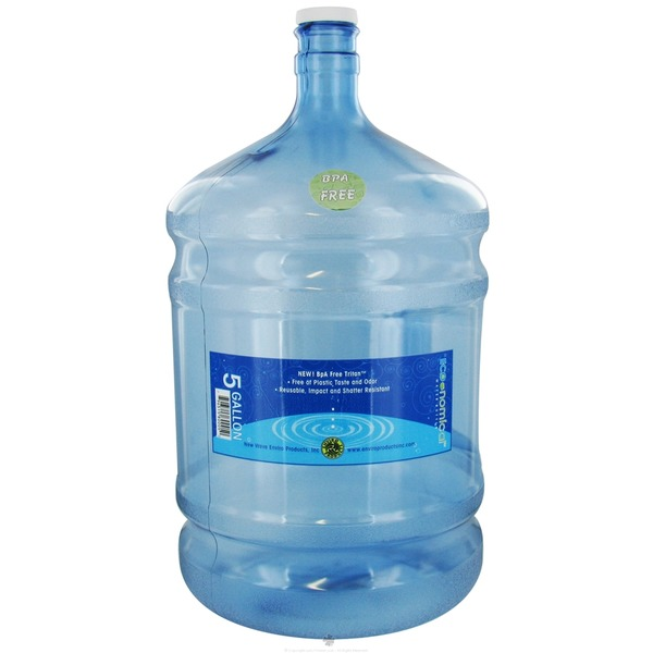 New Wave Enviro Products 5 Gallon Round BPA-Free Bottle