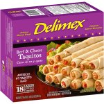 Delimex® Beef & Cheese Large Flour Taquitos 18 ct Box