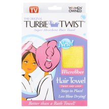 Turbie Twist The Original Microfiber Super-Absorbent Hair Towel