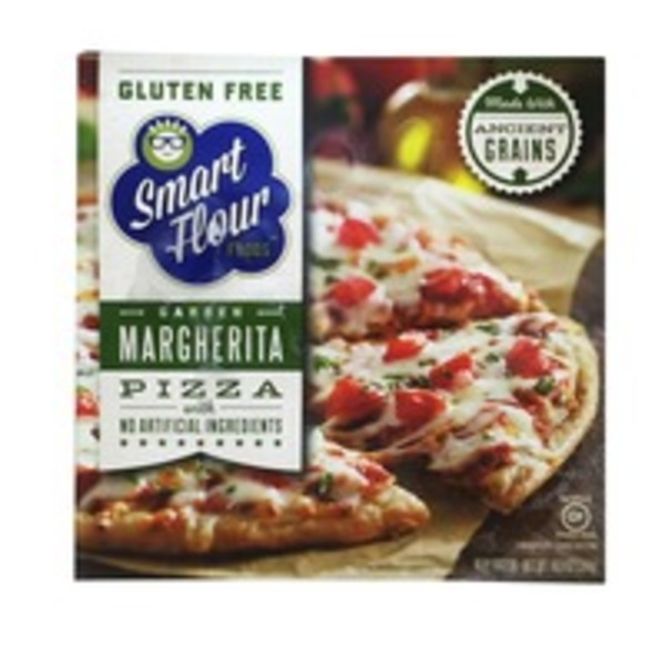 Smart Flour Foods Gluten Free Garden Margherita Pizza