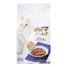 Purina Fancy Feast With Savory Chicken & Turkey Dry Cat Food, 3 Lb.