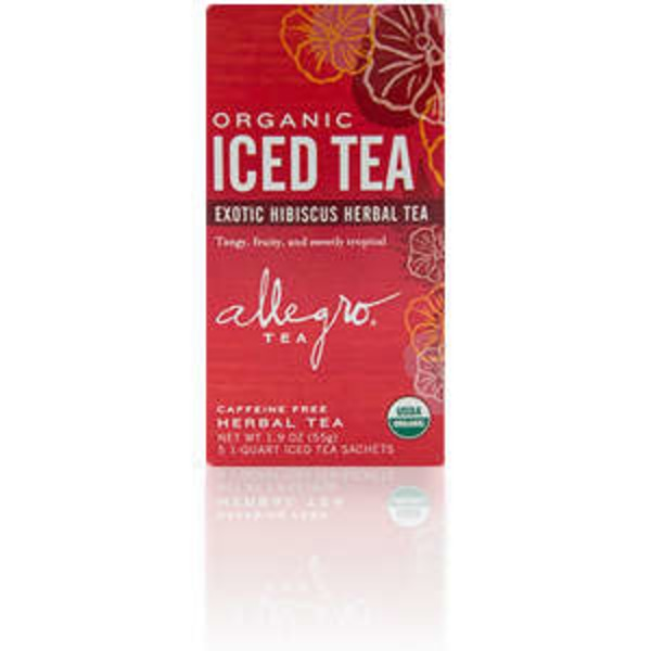 Allegro Organic Exotic Hibiscus Iced Tea