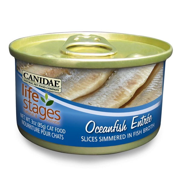 Canidae Life Stages Oceanfish Canned Cat Food 3 Oz.