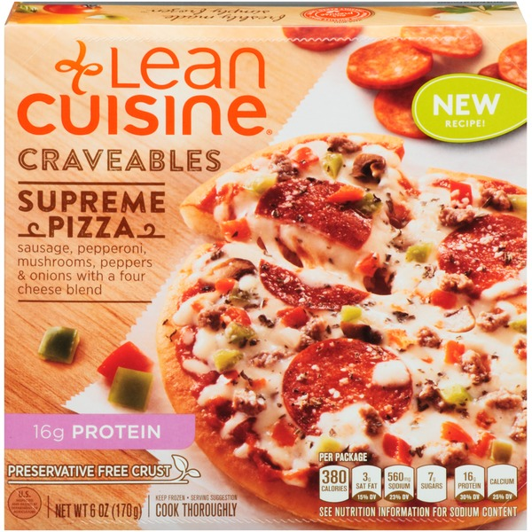 Lean Cuisine Craveables Supreme Pizza