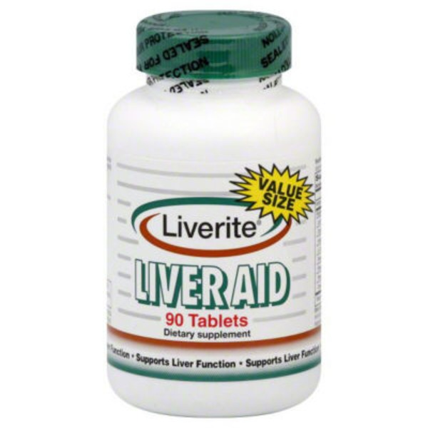 Liverite Liver Aid Tablets Value Size