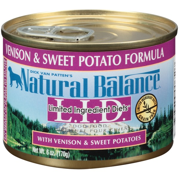 Natural Balance L.I.D. Venison & Sweet Potato Formula Dog Food