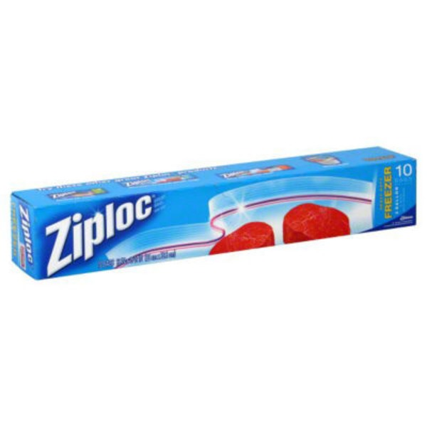 Ziploc Double Zipper 2 Gallon Freezer Bags