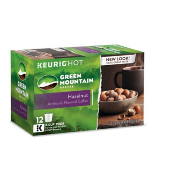 Green Mountain Coffee Hazelnut K-Cup Packs Coffee