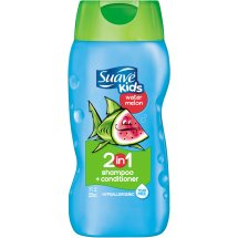 Suave Kids Wild Watermelon 2 in 1 Shampoo and Conditioner, 12 oz
