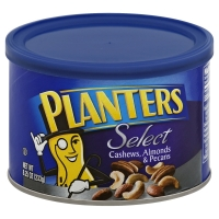 Planters Select Cashews Almonds Pecans