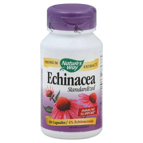 Nature's Way Echinacea, Standardized, Capsules