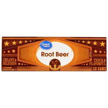 Great Value Root Beer, 144 fl oz, 12 Count