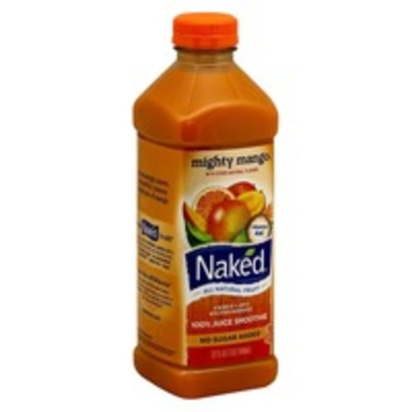 Naked Juice 100% Mighty Mango Juice Smoothie