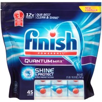 Finish   Quantum Powerball Quantum Max Shine & Protect Automatic Dishwasher Detergent