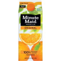Minute Maid Premium Original Low Pulp 100% Orange Juice, 59 oz