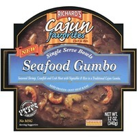 Richard's Cajun Favorites Seafood Gumbo Bowl