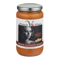 Victoria Vegan Alfredo Sauce Roasted Pepper