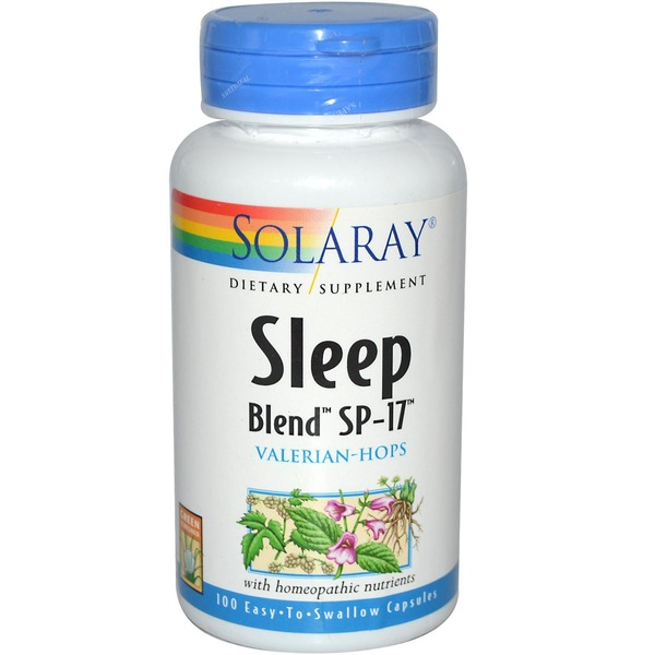 Solaray Sp17 Sleep Blend Capsules
