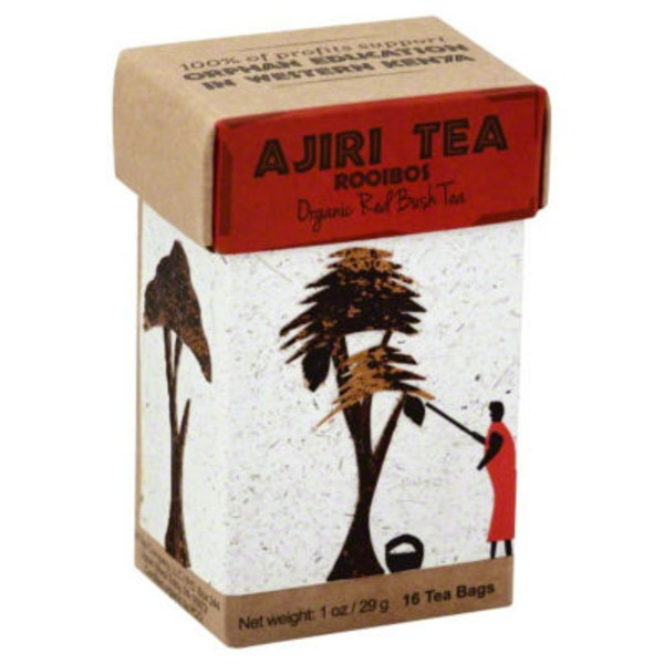 Ajiri Tea Rooibos Red Bush Tea Bags