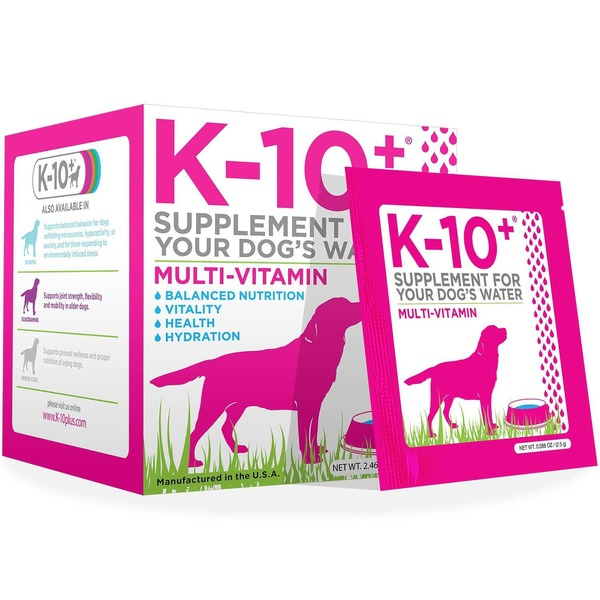 K 10 Plus Multi Vitamin Dog Supplement