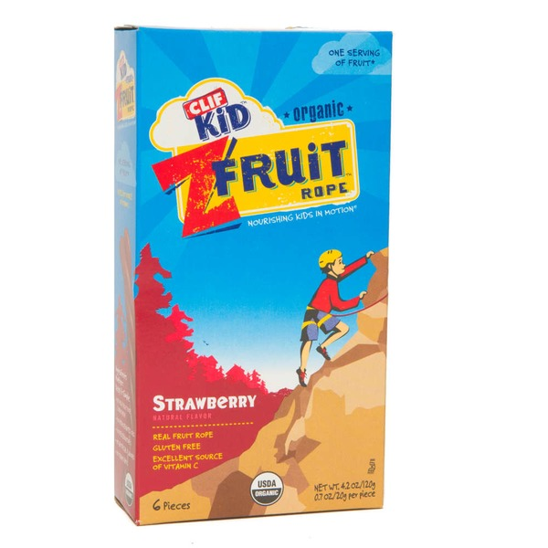 Clif Kid® Organic Z Fruit Strawberry Twisted Fruit Rope