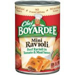 Chef Boyardee Mini Beef Ravioli, 40 Oz.