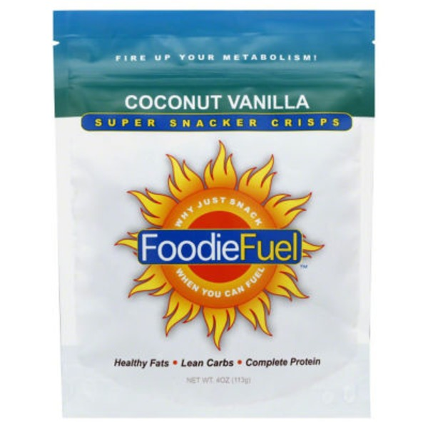 FoodieFuel Coconut Vanilla Super Snacker Crisps