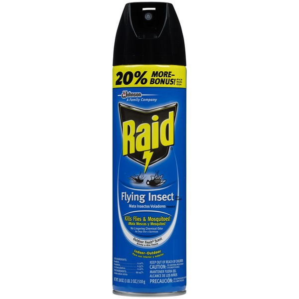 Raid Outdoor Fresh Scent Flying Insect Killer Insecticide