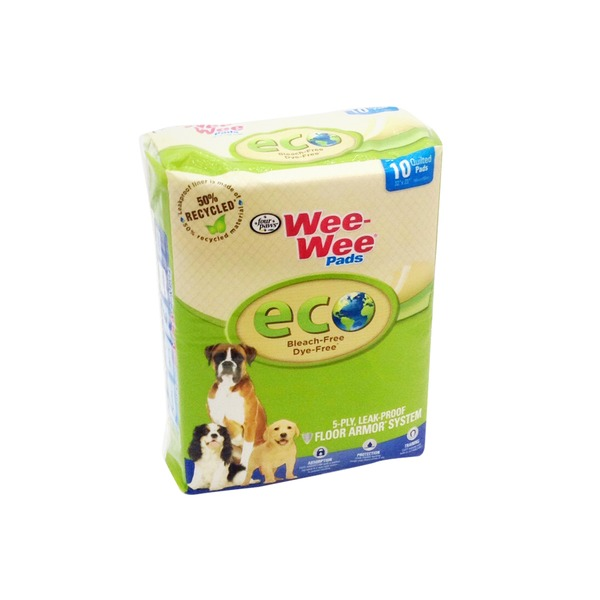 Four Paws Wee-Wee ECO Quilted Pads