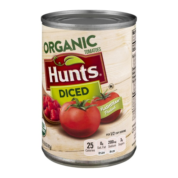 Hunt's Organic Tomatoes Diced