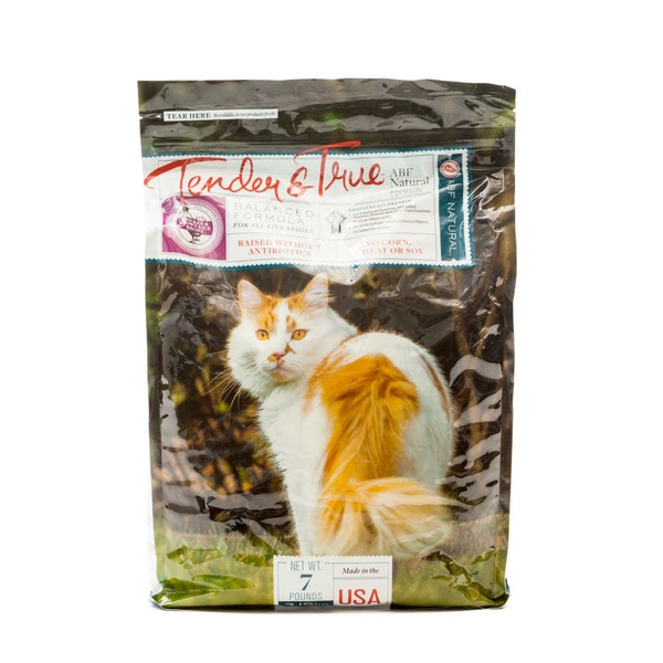 Tender And True Pet Food Chicken Brown Rice Dry Cat Food