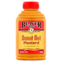 Beaver Brand Sweet Hot Mustard, 13 Fl Oz