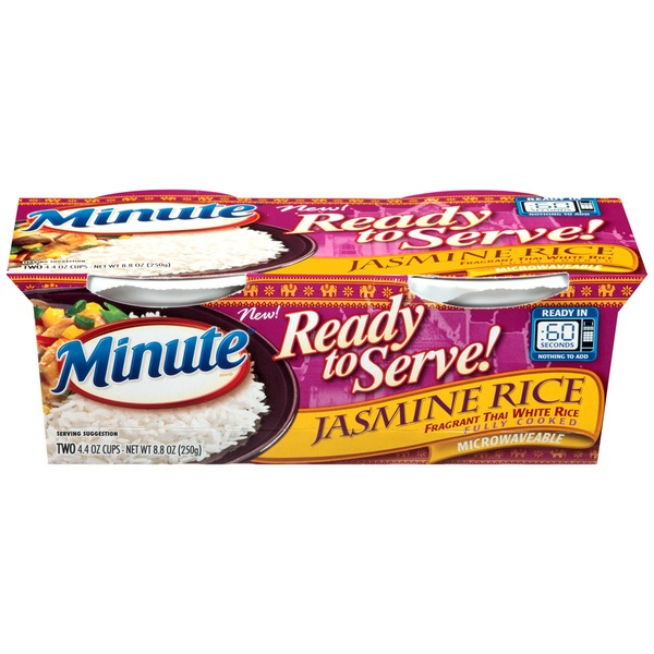 Minute Rice Ready to Serve Jasmine Rice