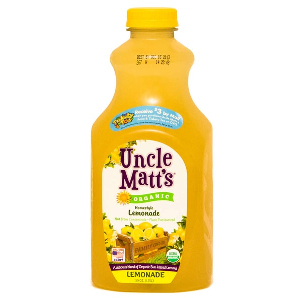 Uncle Matt's Organic Organic Lemonade