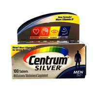 Centrum Silver® Multivitamin and Multimineral Supplement Tablets For Men 50 Above