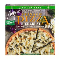 Amy's Spinach Pizza Rice Crust