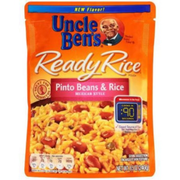 Uncle Ben's Ready Rice Pinto Beans & Rice Mexican Style