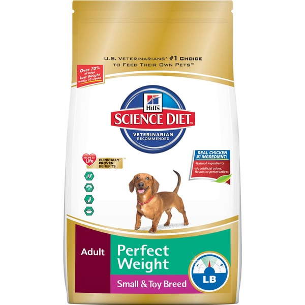 Hill's Science Diet Perfect Weight Small & Toy Breed