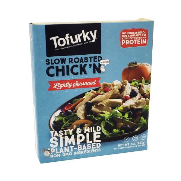 Tofurky Slow Roasted Lightly Seasoned Chick'n