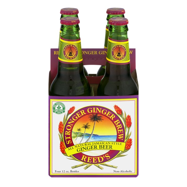 Reed's Inc. Stronger Ginger Brew - 4 CT