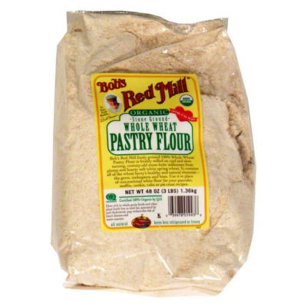 Bob's Red Mill Organic 100% Stone Ground Whole Wheat Pastry Flour